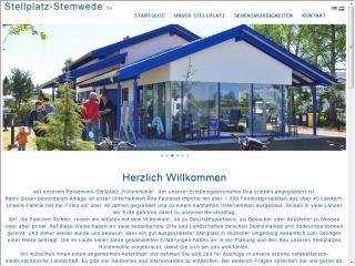 Neuer Internetauftritt Stellplatz-Stemwede.de