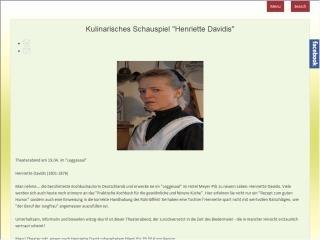 Henriette Davidis kocht wieder in Levern