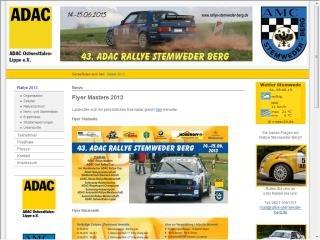 Rallye Stemweder Berg – Rallyezentrum an der Festhalle