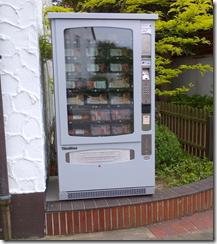 Für das spontane Grillen – Wurstautomat in Levern