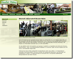 Motorradfahrt zur Brocker Mühle
