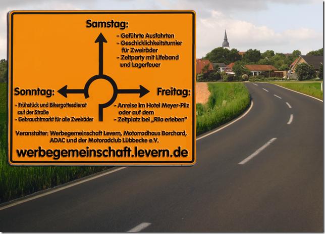 Frühling in Levern vom 9. – 11. Mai 2014 – Bikerweekend – Straßenfest –