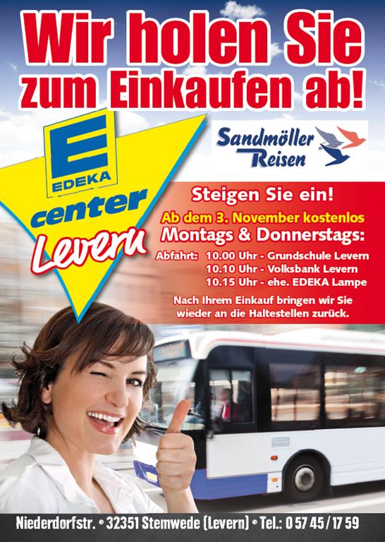 Fahrservice zum E-Center