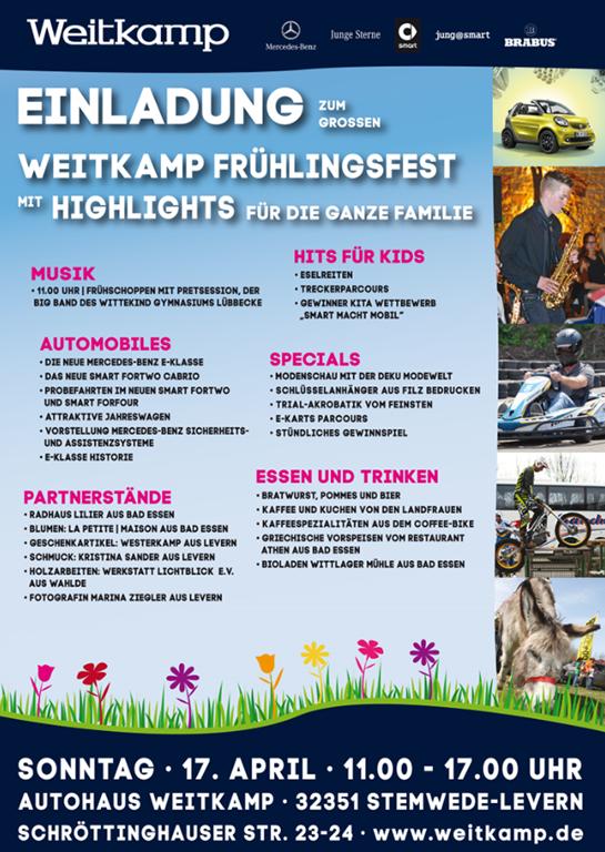 Großes Weitkamp Frühlingsfest