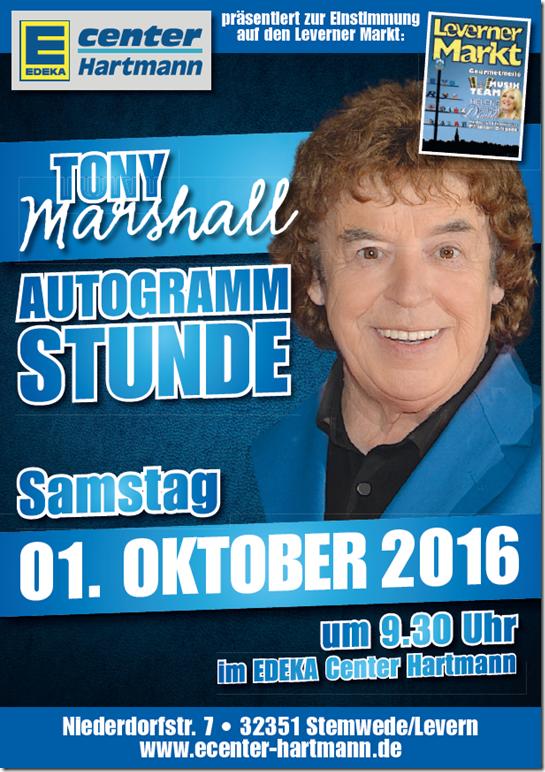 Tony Marschall Autogrammstunde im E-Center