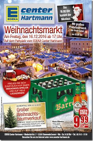 Nach dem Weihnachtsmarkt ist vor dem Weihnachtsmarkt