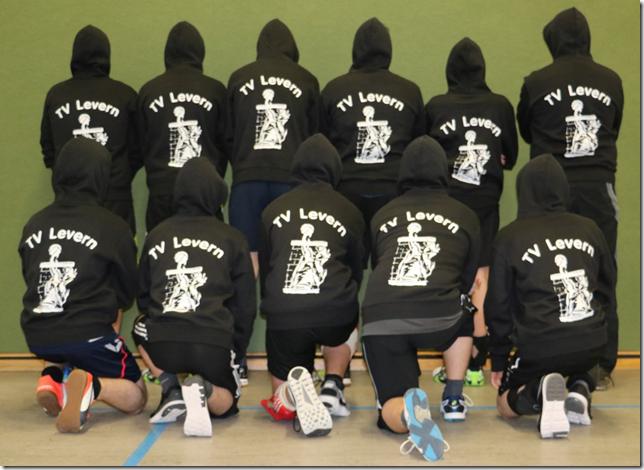 Frabbels spenden für junge Volleyballer