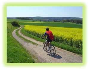 Frühlings-Radtour (rund 50 km) am 30. April
