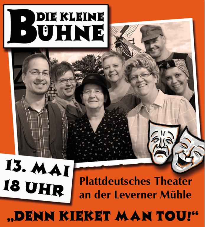 Plattdeutscher Einakter an der Mühle in Levern