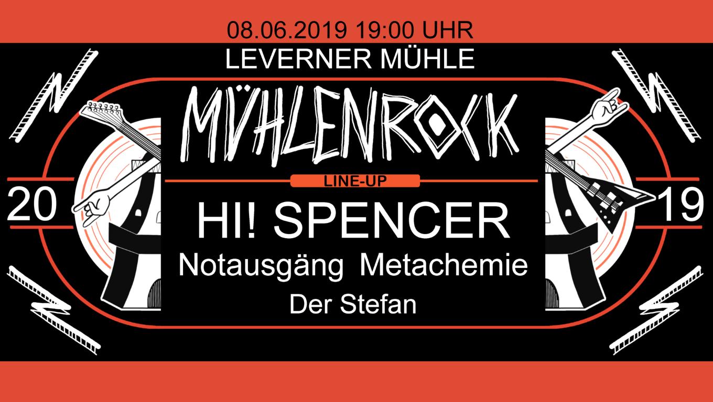 Mühlenrock in Levern am Pfingstsamstag den 08.06.2019