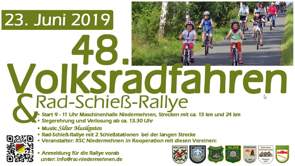 Volksradfahren am 23.06.2019
