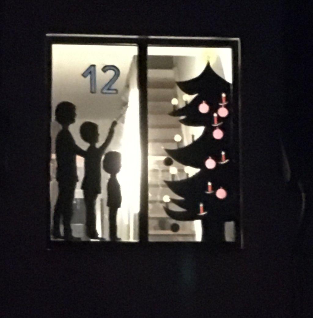 Adventsfenster 12.12.2020